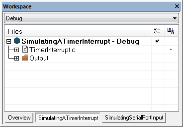 Simulating a timer interrupt